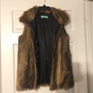 Ladies Karlie Faux Fur Vest